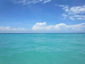 The ocean off of Cancun, Mexcio-Photo by: Cherilyn Jose