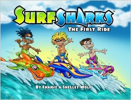 Surf Sharks: The First Ride book