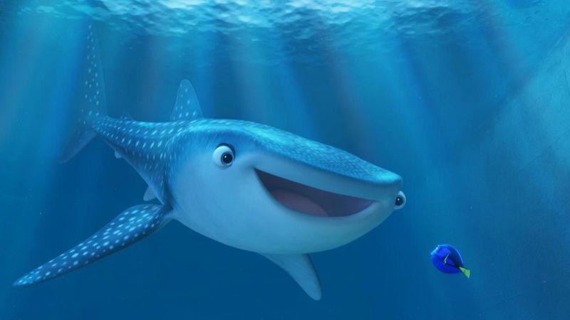 Finding Dory, Destiny, Dory, Whale Shark